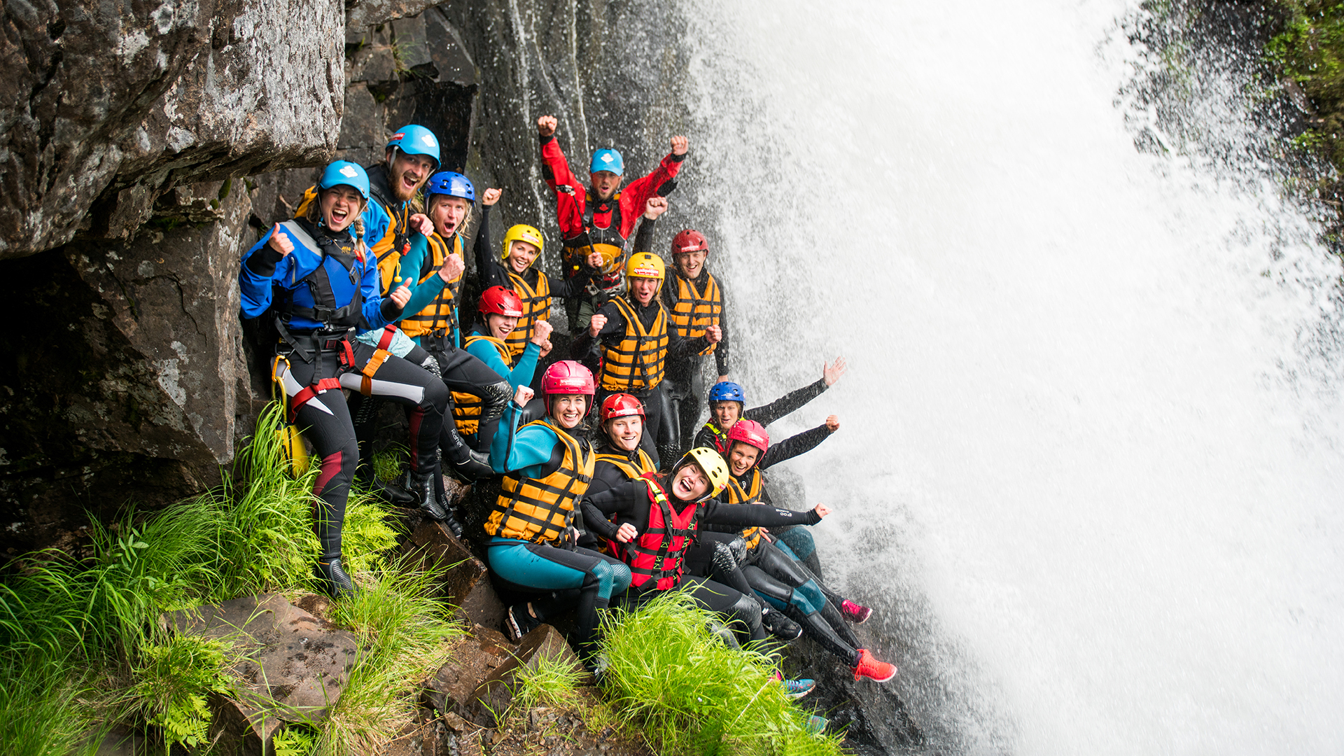 Canyoning (grupper)